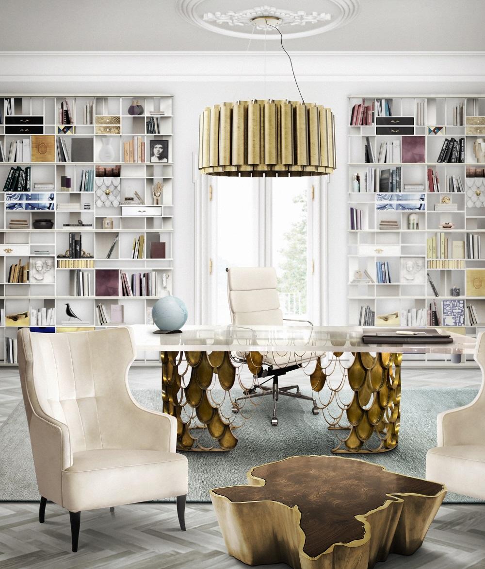 Modern Interior Design Office by BRABBU