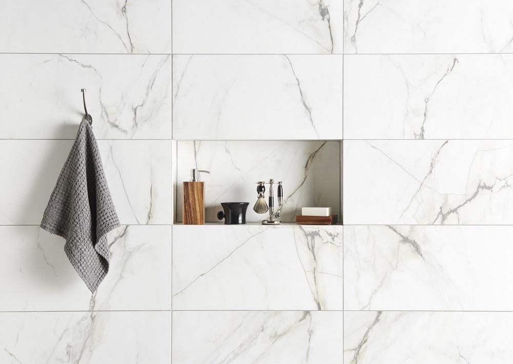 Original Style Tileworks Marble Carrara Bianco Paonazzetto Natural CS1133 6030 Landscape